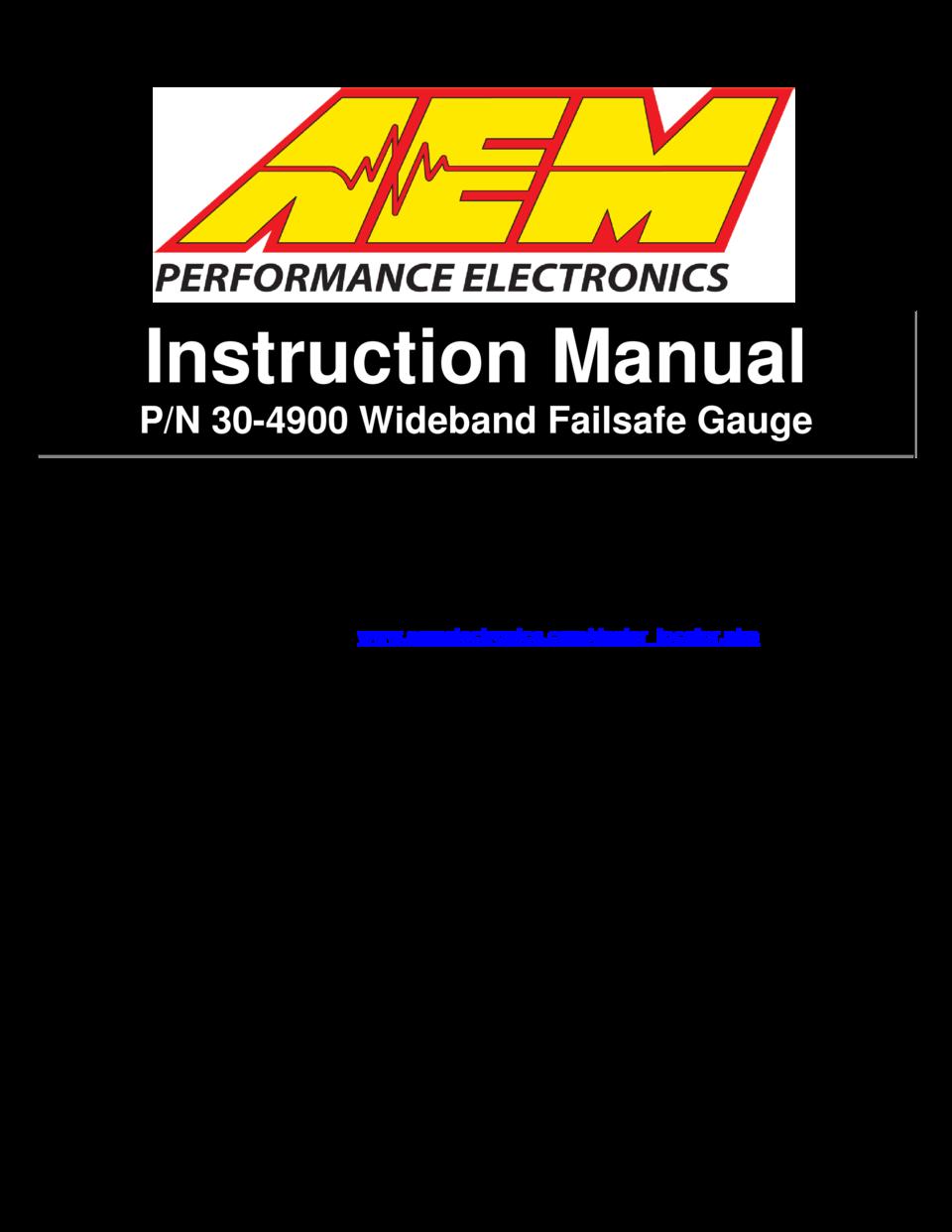Exelent Aem Wideband Gauge Wiring Diagram Component - Electrical ...