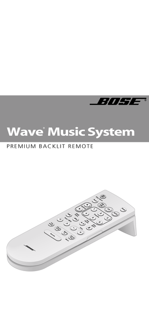 Bose Wave music system premium backlit remote Sold from