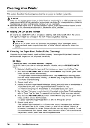 Canon printer PIXMA iP100 User Manual