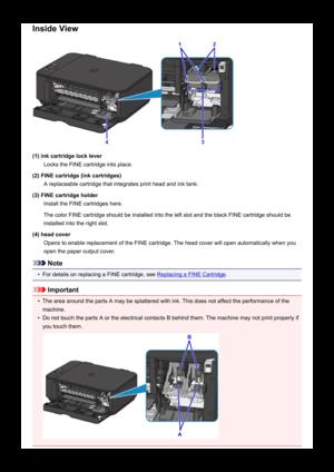 Canon printer PIXMA MG3620 User Manual