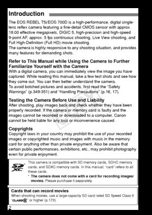 Canon Eos Rebel T5i 700d Instruction Manual