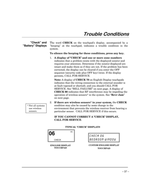 ADT Security Services Safewatch Pro 3000 User Manual
