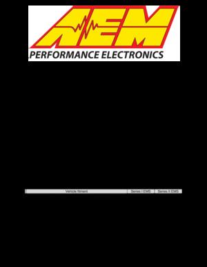 Wondrous Aem Series 2 Plug Play Ems 306030 User Manual Wiring Digital Resources Inamasemecshebarightsorg