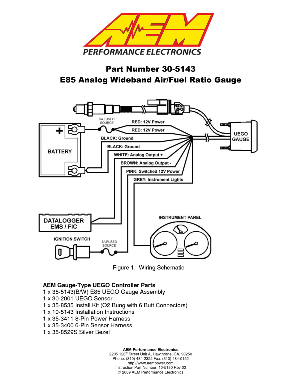 AEM og E85 Wideband UEGO Gauge E85 AFR 305143 User Manual Air Fuel Ratio Meter Wiring Diagram on air engine diagram, air clutch diagram, transmission diagram, air torque diagram, air mixture diagram, air density diagram,