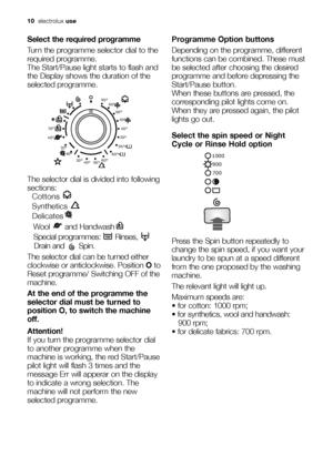 Electrolux Ewf 10240 W User Manual
