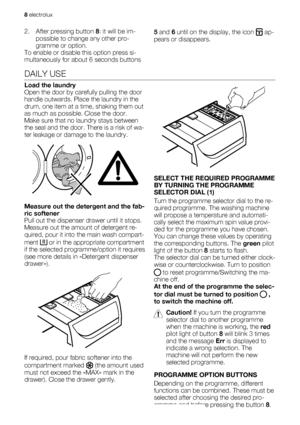 Electrolux Ews 126410 W User Manual