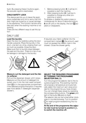 Electrolux Ews 126540 W User Manual