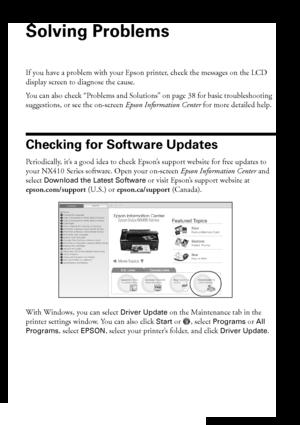 Epson Stylus NX415 User Manual