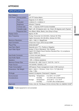 Iiyama Prolite E2273hds 1 User Manual