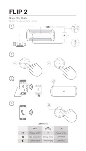 User Manual jbl flip 3 Service