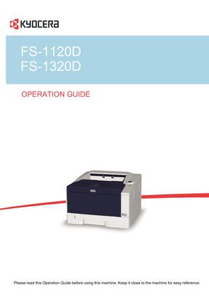 принтер kyocera fs-1120 инструкция