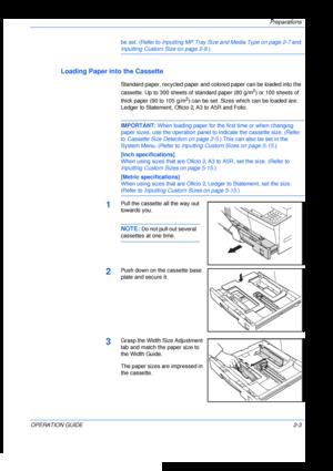 Kyocera KM 2035 User Manual