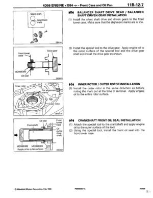 Land Rover Mitsubishi L200 4d56 Engine Workshop Mitsubishi Manual