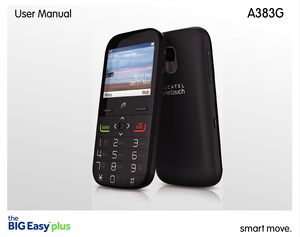 Alcatel OneTouch Big Easy Plus User Manual