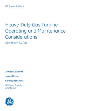 GE Frame 5 Service Manual