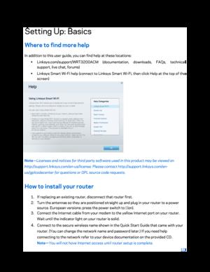 Linksys WRT AC3200 User Manual
