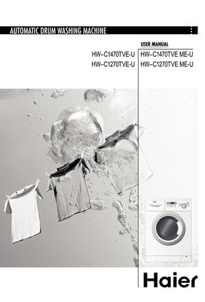 Haier Hw C1470tve U Manual