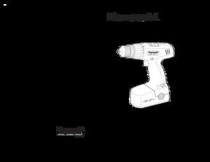 AllTrade Kawasaki 192V Cordless Drill 690075 User Manual