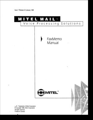 fax memo