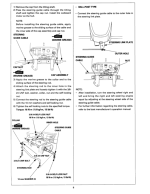 Honda Outboard Set Up Installation And Pre Delivery Bf25d