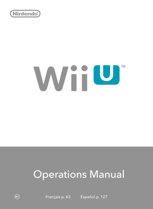 Nintendo wii owners manual what to do array nintendo wii u operations manual rh usermanuals tech fandeluxe Image collections