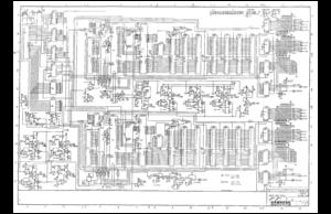 Nintendo VS Unisystem Schematic Manual on