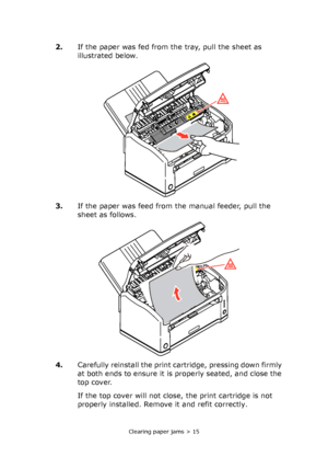 OKI B2400 User Manual