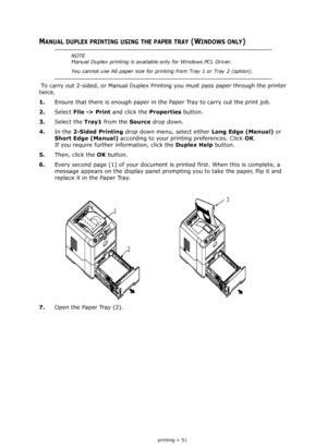 OKI B410dn User Manual