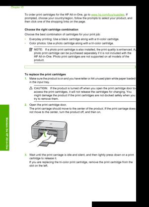 HP DeskJet F2280 User Manual