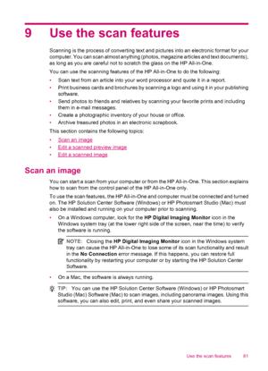 HP OfficeJet J5783 User Manual