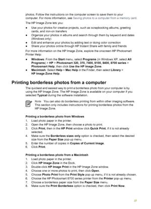 HP Photosmart 8750 User Manual