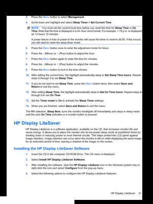 HP Compaq Le1911 User Guide