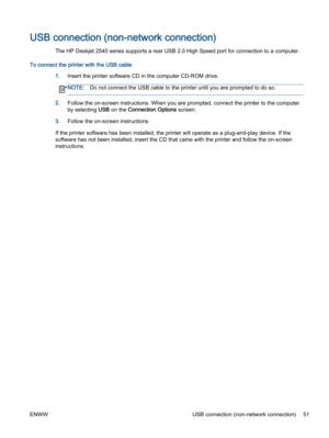 HP Deskjet 2540 User Manual