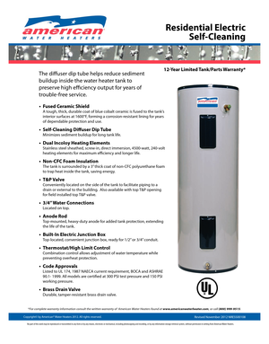 Navien Natural Gas Direct Hot Water System