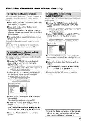 JVC Av 2104ce Instructions