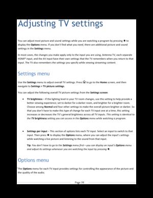 Roku TCL TV S305 User Manual