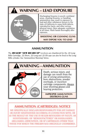 Ruger Bearcat Instruction Manual