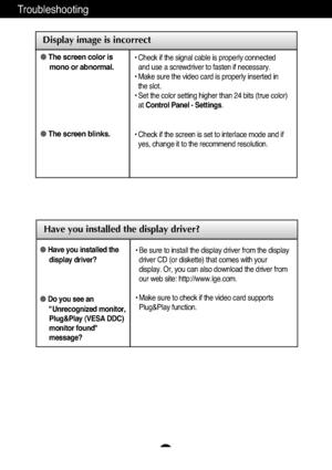 LG Flatron W2252tq Users Guide