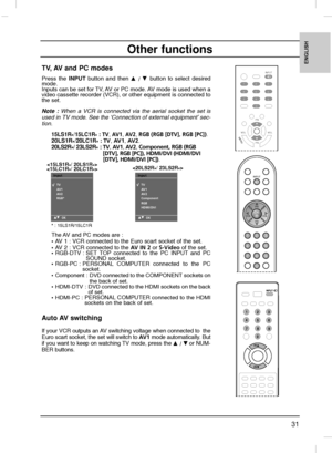 LG 15lc1r Owners Manual