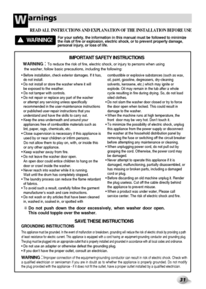 LG Wd 14440fds Owners Manual