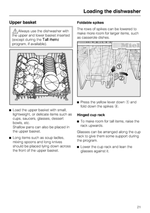 Miele G 5500 Operating Instructions