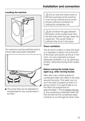 Miele T 7944 C Manual