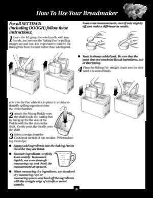Black And Decker Bread Maker Manual