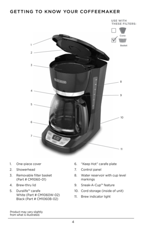w300 12cup programmable coffeemaker cm1060b 1482348901 d 3 Black And Decker  Cup Programmable Coffee Maker Manual