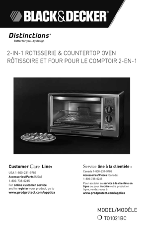 pdf black and decker toaster oven with rotiserrie model ct07100