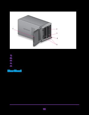 Netgear Rn212 2 Bay Desktop Readynas Storage Hardware Manual