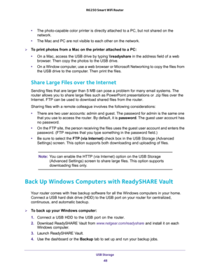 Netgear R6250 Smart Wifi Router Ac1600 User Manual