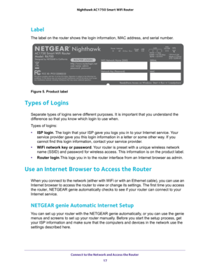Netgear R6700 Nighthawk Ac1750 Smart Wifi Router Dual Band Gigabit