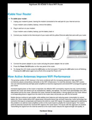 Netgear R8300 Nighthawk X8 Ac5000 Smart Wifi Router User Manual
