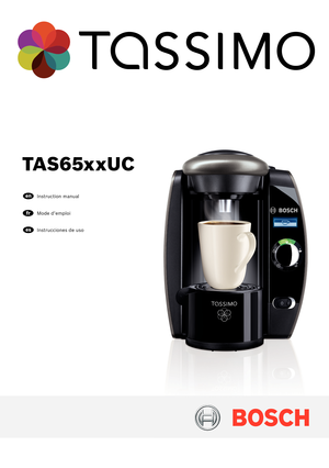 tassimo t20 instructions manual